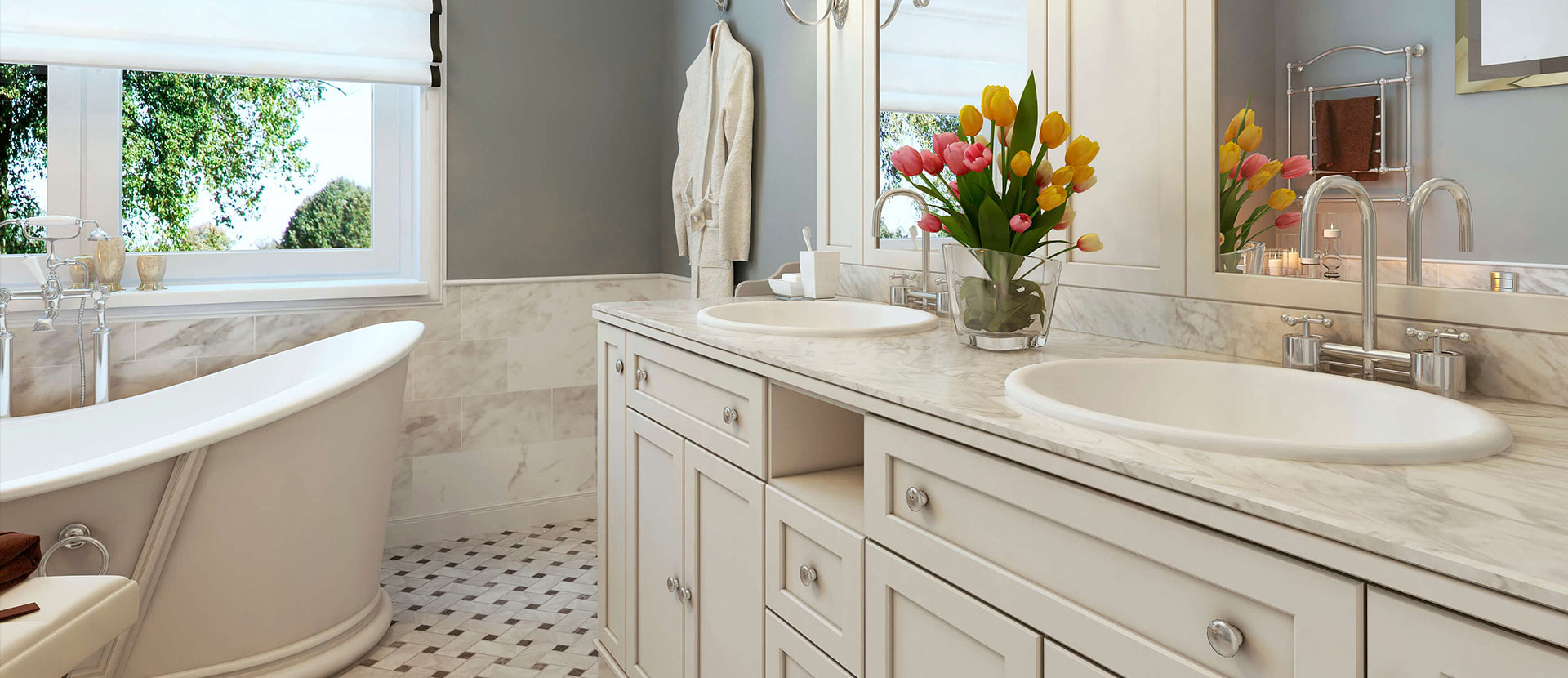 8 Enchanting Ideas For Creating Your Bathroom Oasis Builders Cabinet