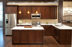Walnut Kitchen And Bath Cabinets Builders Cabinet