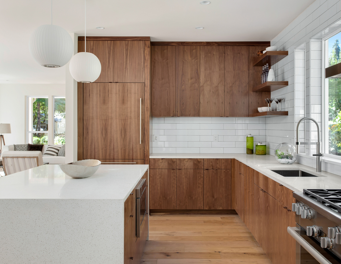 The Different Types of Wooden Cabinets for Your Kitchen - Builders ...